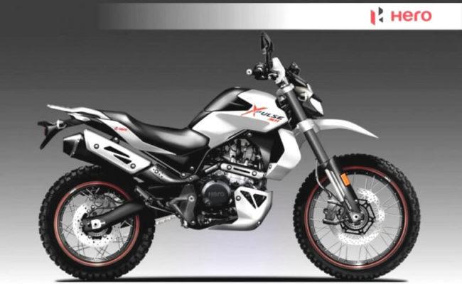 Hero 300cc bike
