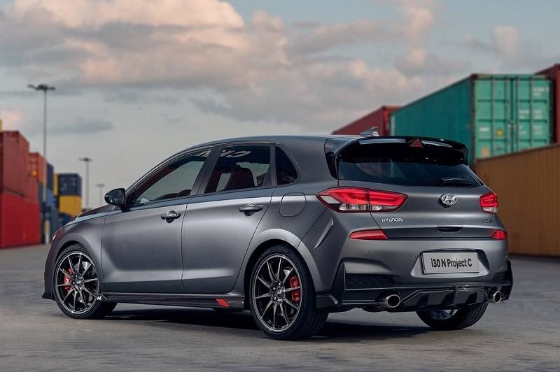 Hyundai i30 N Project C rear