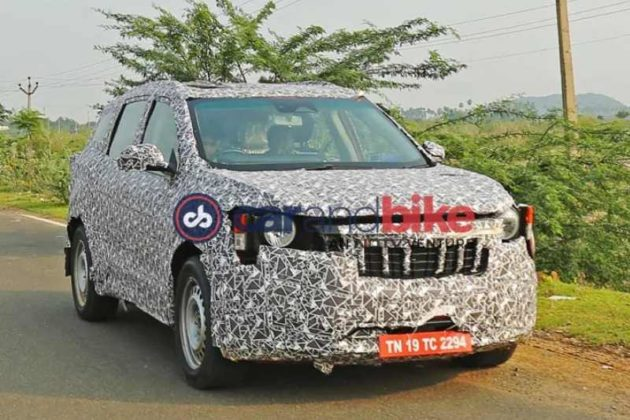 Mahindra S204 fronts spied