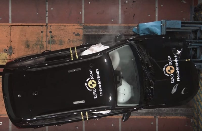 Skoda Kamiq crash test