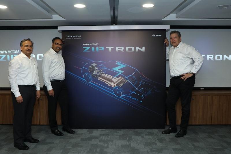 Tata Ziptron Electric Engine