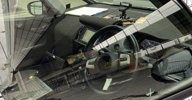 2020 Honda City interior spied