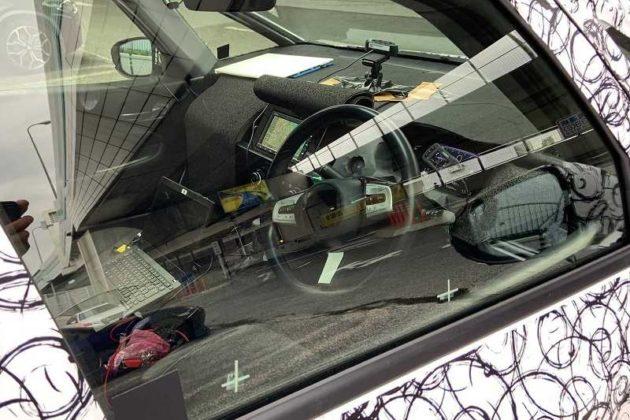 2020 Honda Jazz Interior spied
