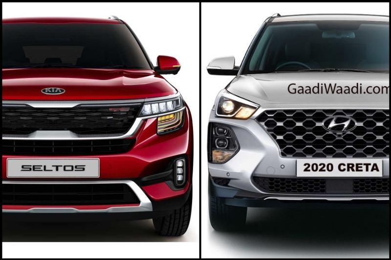 2020 Hyundai Creta Vs Kia Seltos