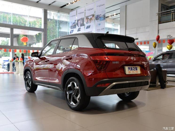 2020 Hyundai Creta ix25 rear