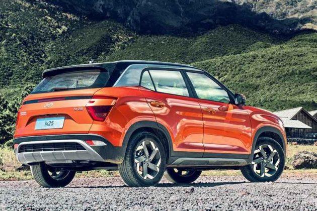 2020 Hyundai Creta rear