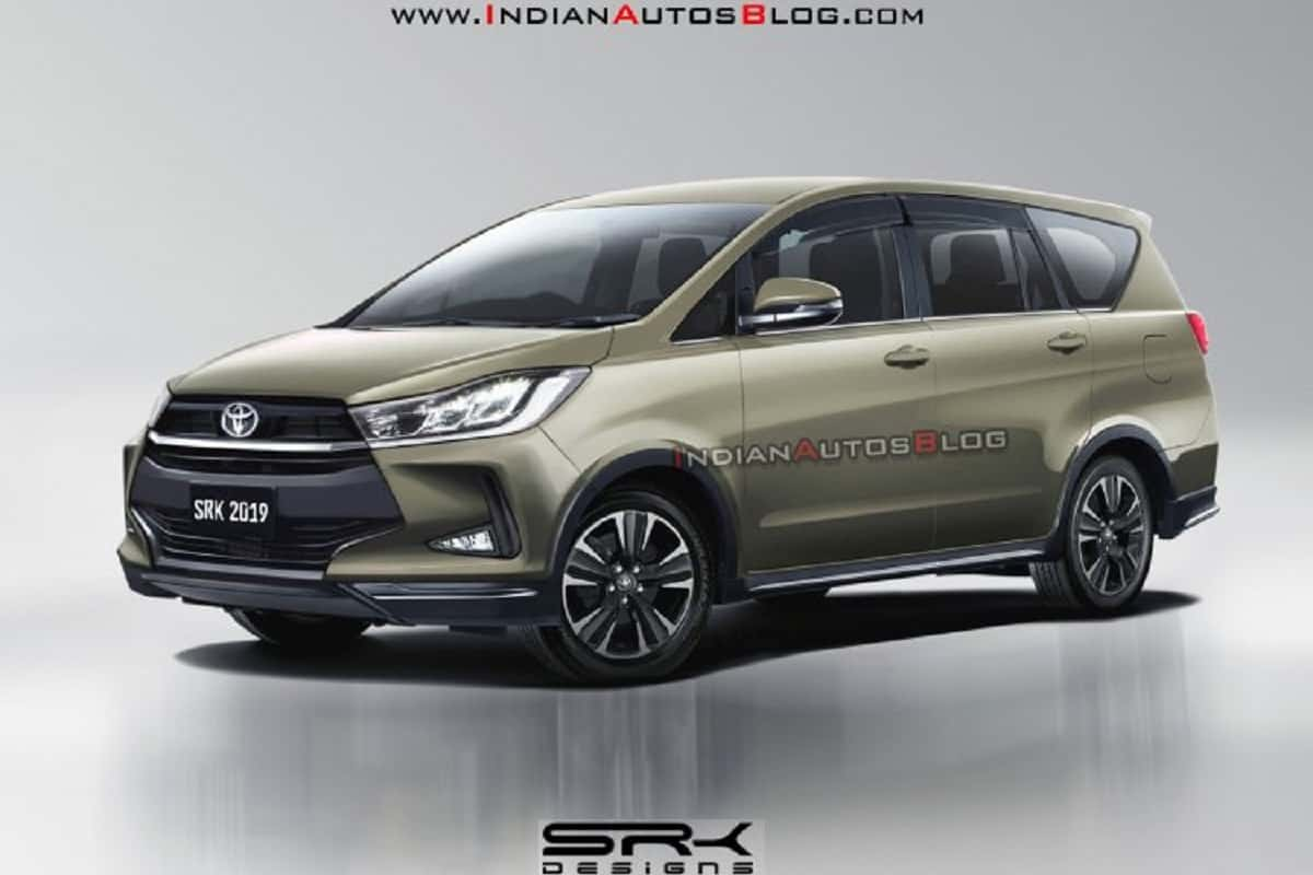 2020 Toyota Innova Facelift Render