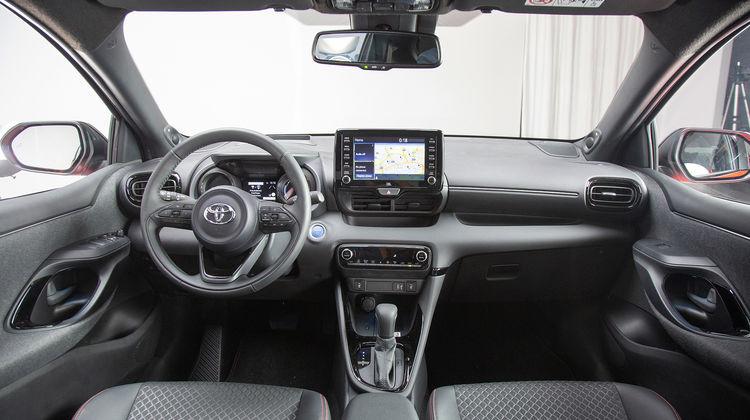 2020 Toyota Yaris Interior Leaked