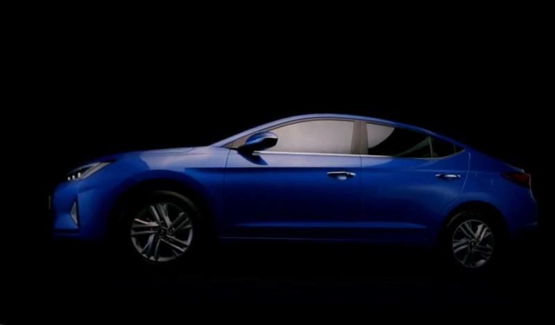 Hyundai Elantra facelift Design