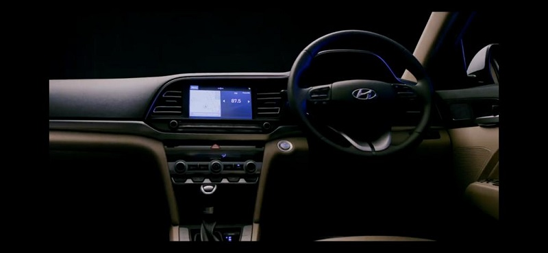 Hyundai Elantra facelift Interior