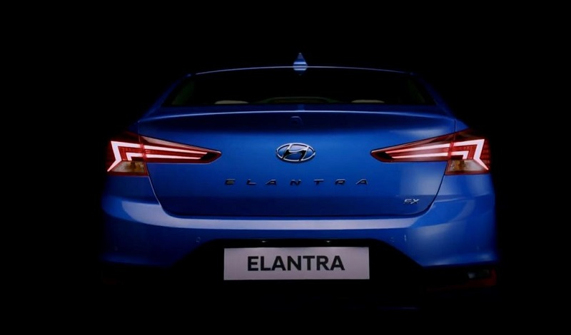 Hyundai Elantra facelift Rear Design