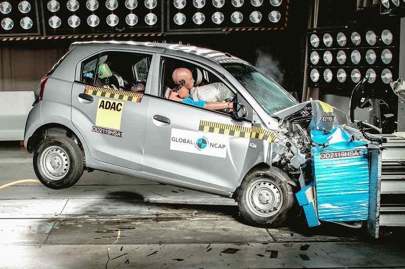 Hyundai Santro Global NCAP Crash Test