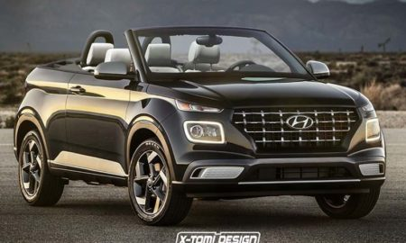 Hyundai Venue Convertible Rendering