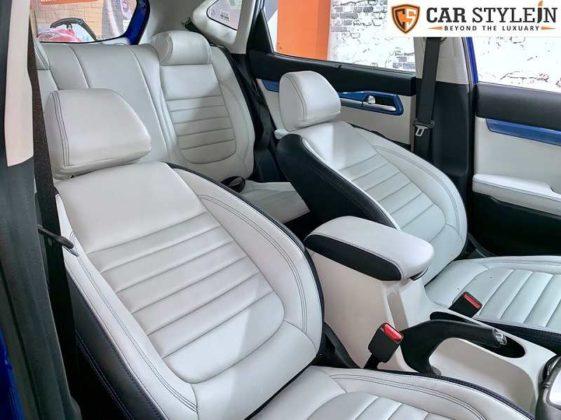 Kia Seltos modified seats