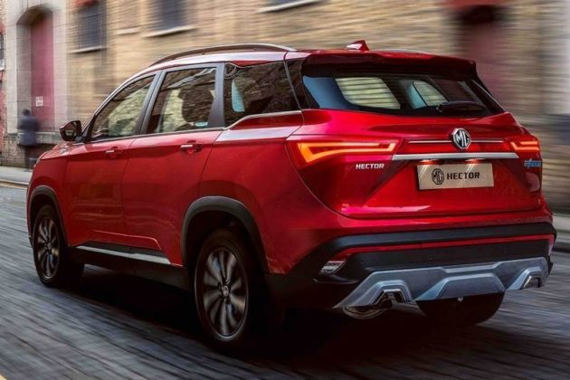 MG Hector In Red