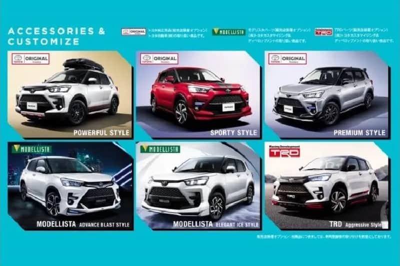 Toyota Raize Launch