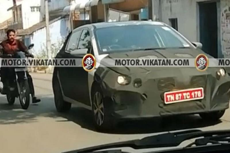 2020 Hyundai i20 spied front