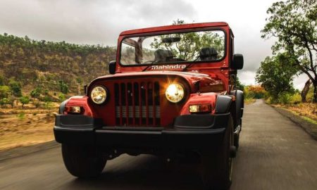 2020 Mahindra Thar Petrol Engine