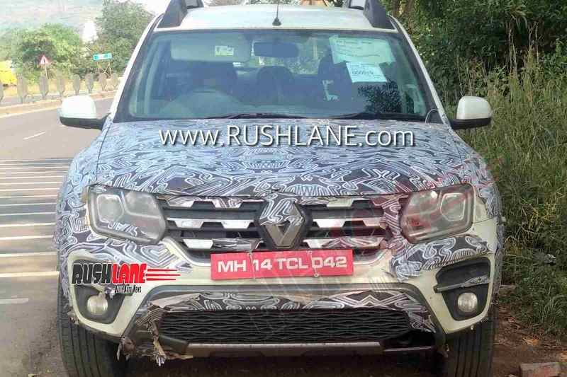 BS6 Rnault Duster spied