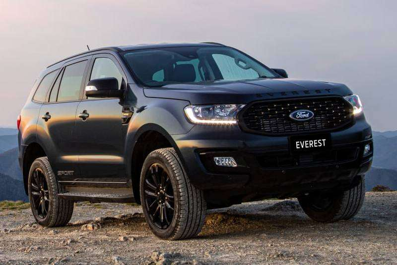 Ford Everest Sport Features