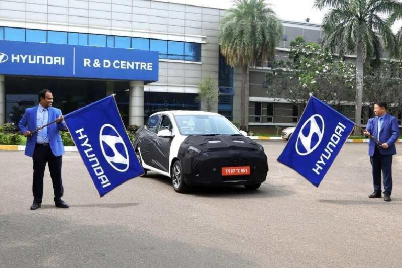 Hyundai Aura Testing