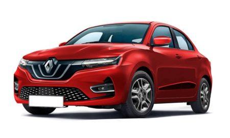 Renault kwid sedan rendering (1)