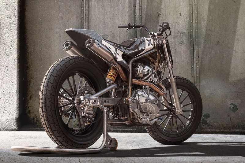 Royal Enfield 650cc Flat Track Engine