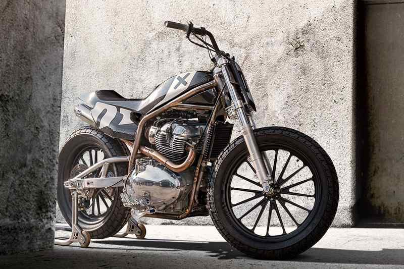Royal Enfield Harries Flat Tracker