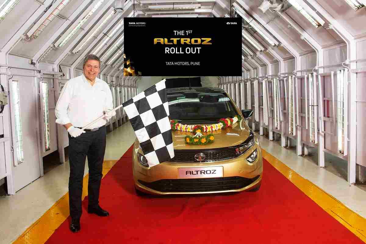 Tata Altroz Roll Out