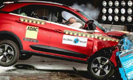 Tata Nexon Crash Test 5 star