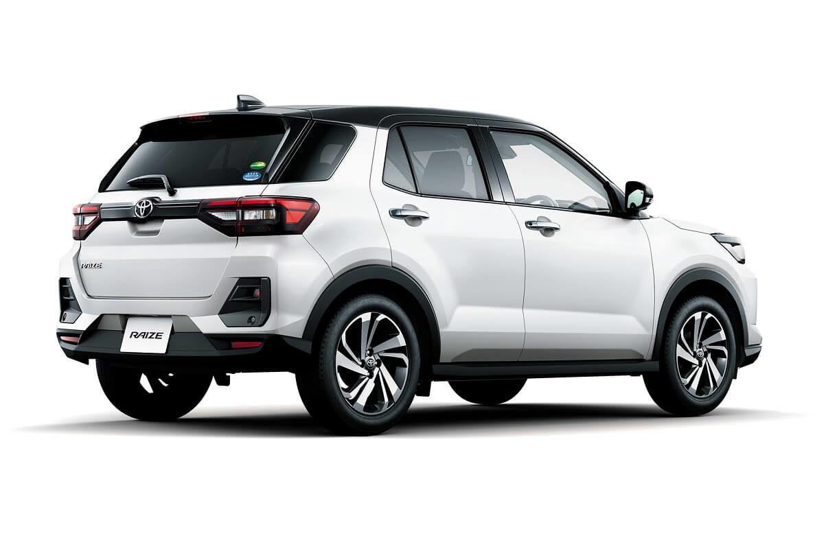 Toyota Raize White