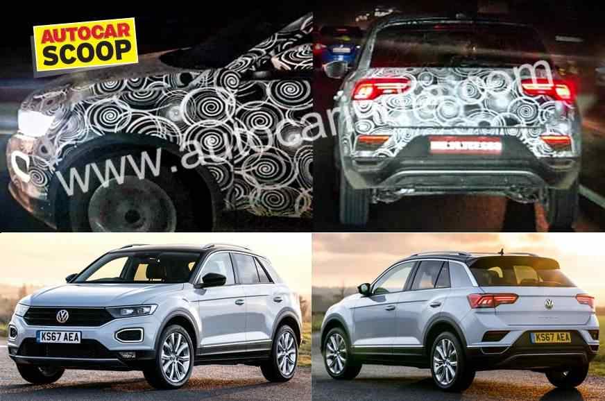 VW T-ROC Spied India