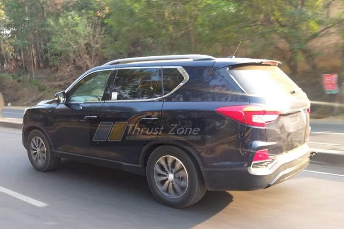 2020 Mahindra Alturas BS6 (Updated) Spotted Ahead of Launch