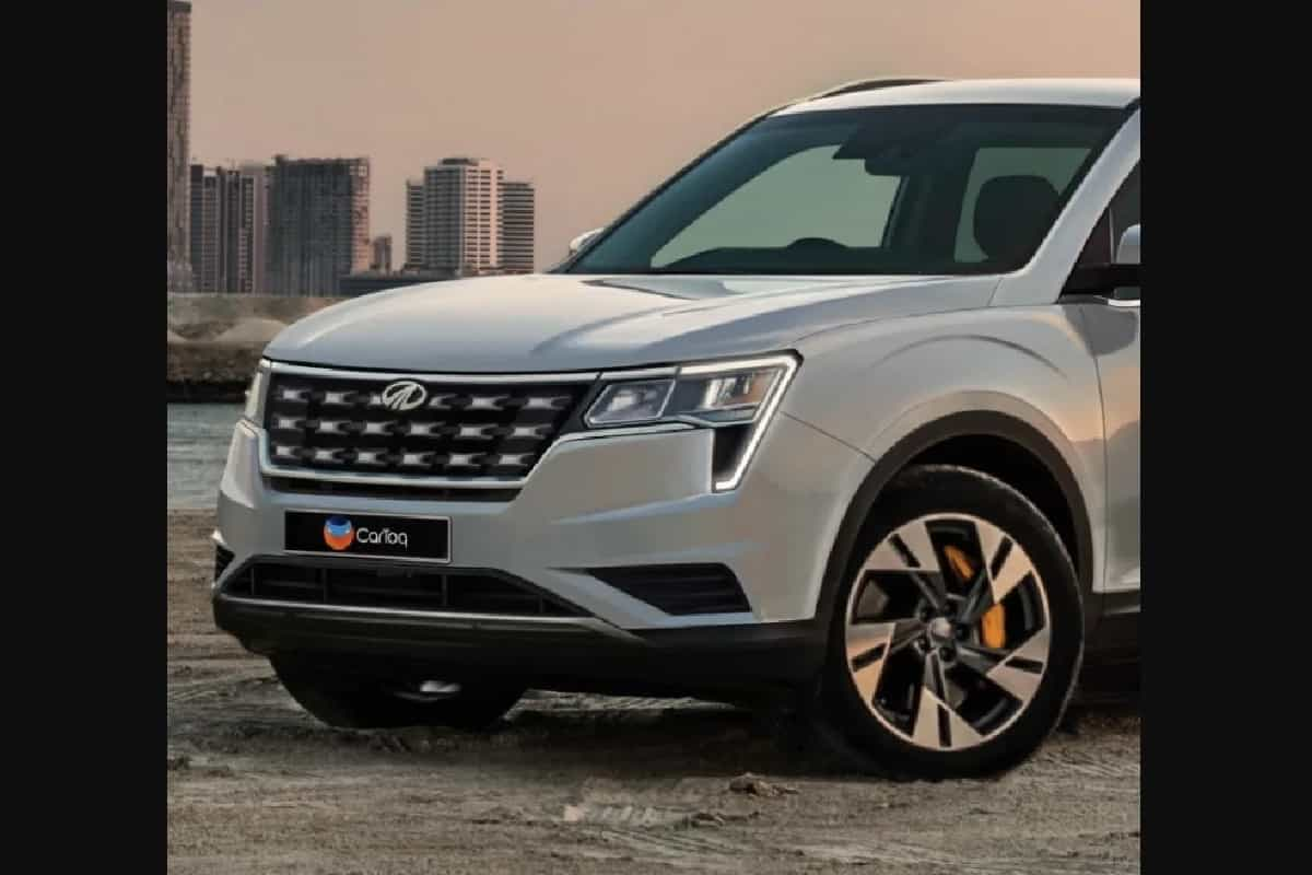 2020 Mahindra XUV500 New Rendering Shows Rugged Design