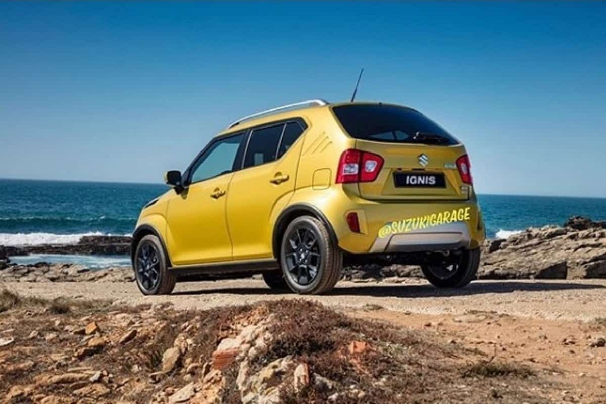 2020 Maruti Ignis Pictures Leaked Changes Explained