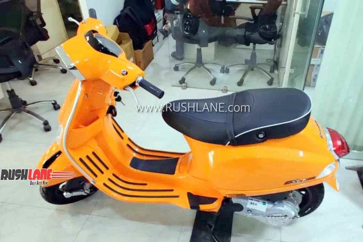 2020 Vespa BS6 Scooter New Price