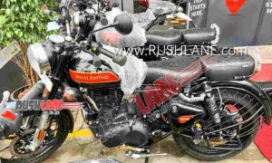 BS6 Royal Enfield Classic at dealership