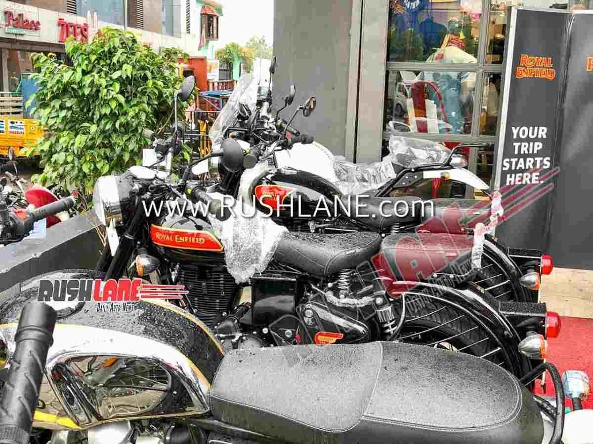 BS6 Royal Enfield Classic 350 Reaches Dealership