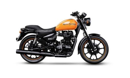 BS6 Royal Enfield Thunderbird 350X Gateway Orange