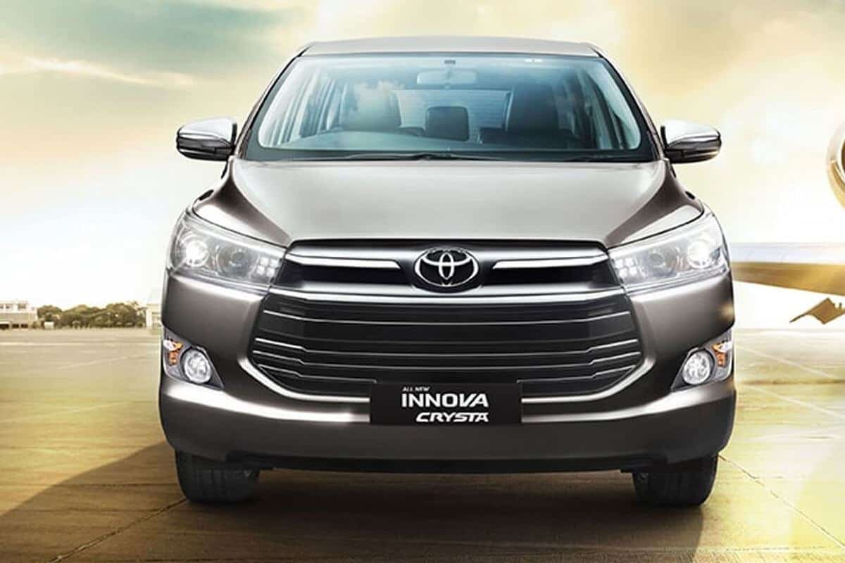 BS6 Toyota Innova Crysta