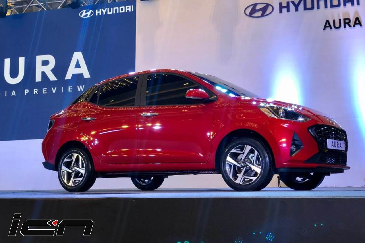 Hyundai Aura Launch Price is Rs 5.79 Lakh