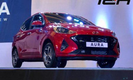 Hyundai Aura compact sedan