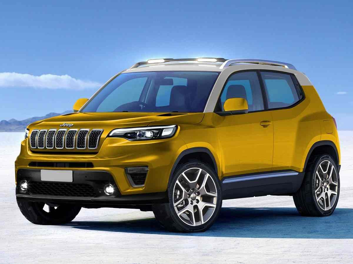 Upcoming Jeep Compact SUV to Rival Tata Nexon, Suzuki Jimny