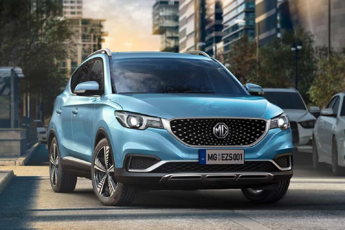MG ZS EV Gets Over 2,300 Bookings; Beats Mahindra, Tata, Hyundai EVs