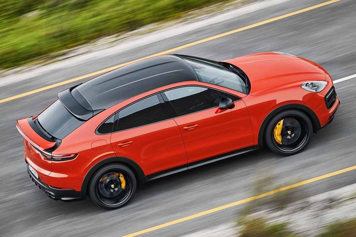 Porsche Cayenne Coupe Specifications