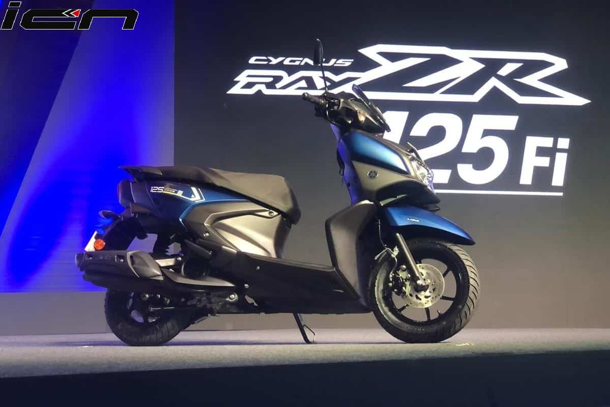 Yamaha Ray ZR 125 FI Revealed; Gets Bigger Engine and Better Styling