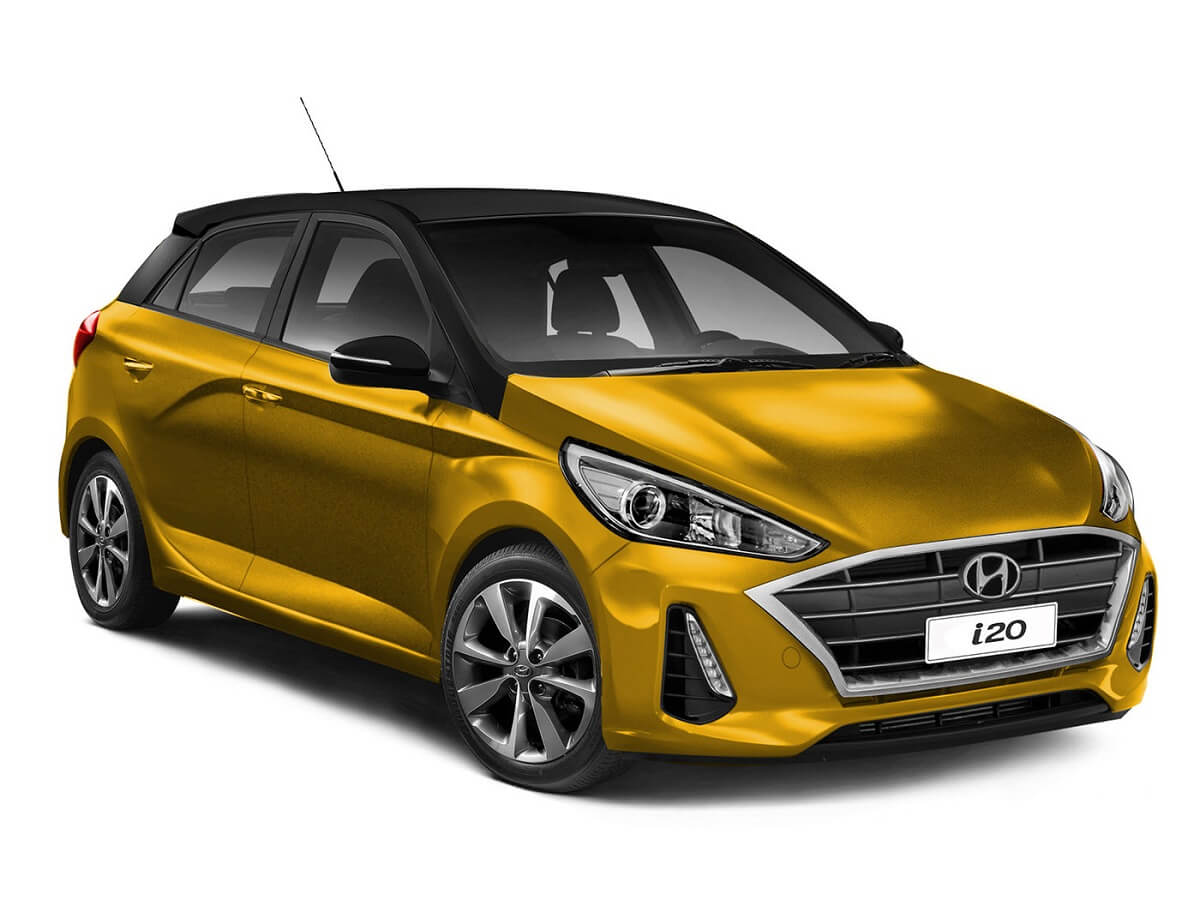 2020 Hyundai i20 Rendered front (1)