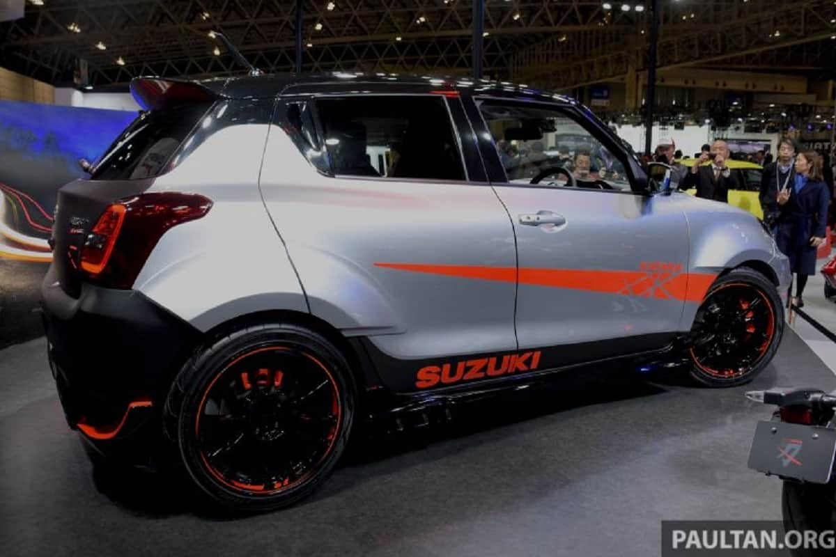 Suzuki Swift Sport Katana Edition Unveiled – Pictures & Details