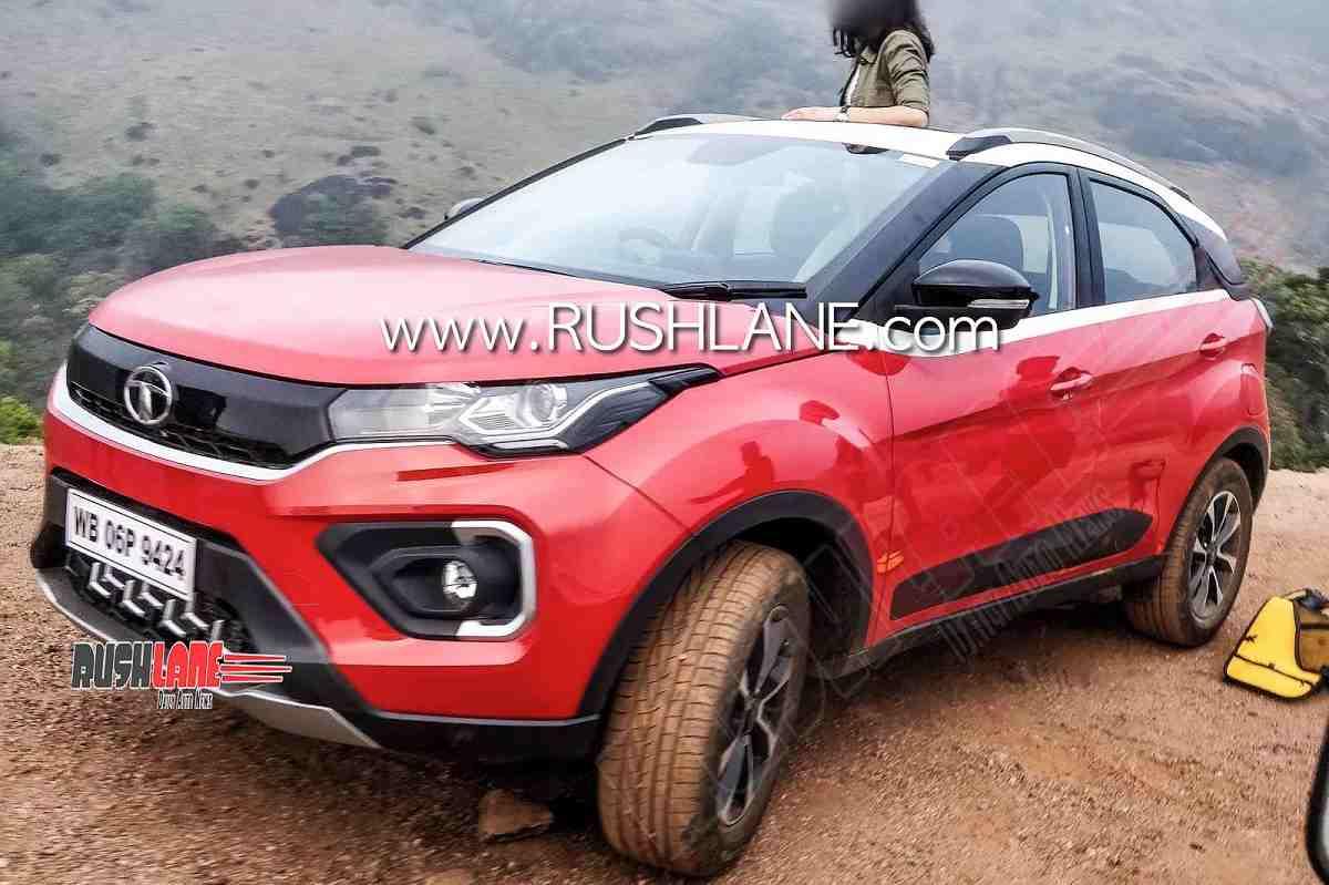 2020 Tata Nexon Facelift spied