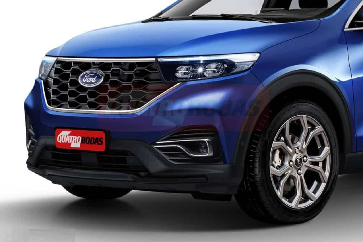2021 Ford Ecosport Rendering